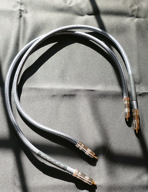 Goldkabel Edition Ouverture Cinch Stereo. High-End Kabel 0,75m