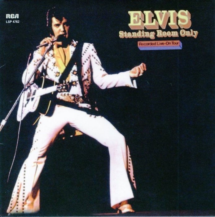 Standing Room Only. Von Elvis Presley - Audio-CD