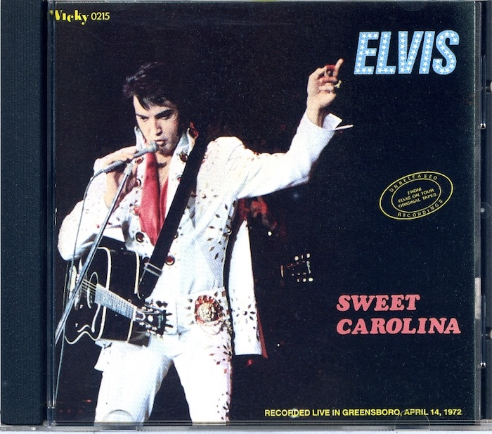Sweet Carolina. Von Elvis Presley - Audio-CD - 1990
