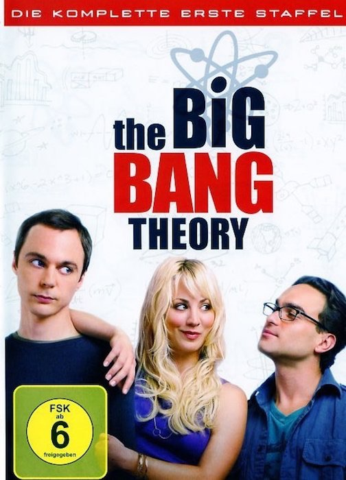The Big Bang Theory - Staffel 1. DVD-Box - TV-Serie