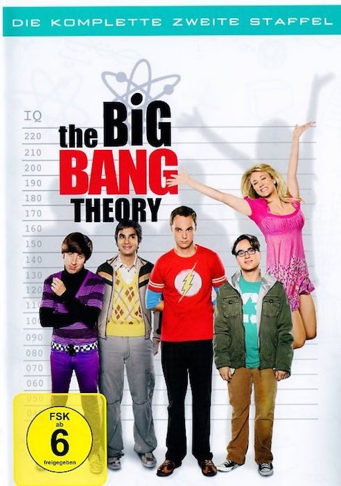 The Big Bang Theory - Staffel 2. DVD-Box - TV-Serie