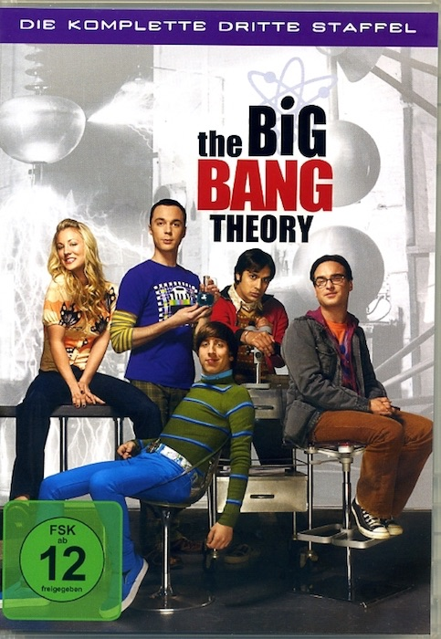 The Big Bang Theory. 3 DVD-Set. Komplette dritte Staffel - TV-Serie