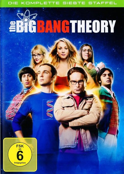 The Big Bang Theory - Staffel 7.  DVD-Box - TV-Serie