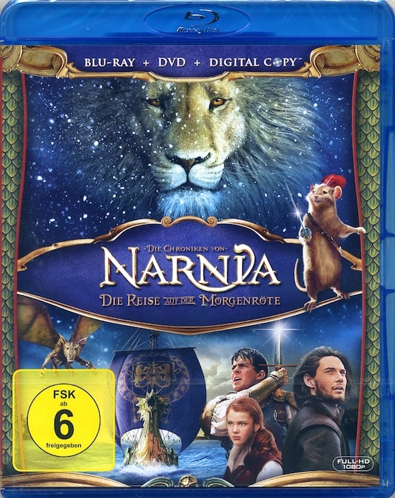 Die Chroniken von Narnia 3. Blu-ray 2010 - Fantasy-Film