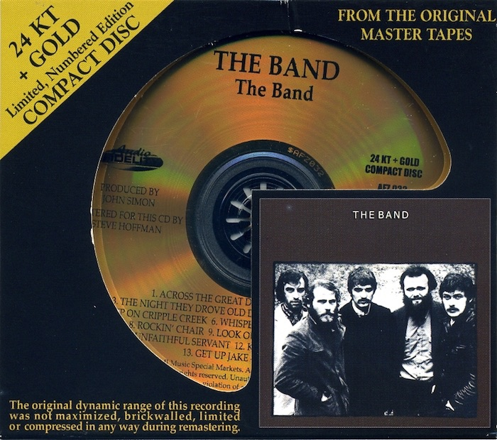 The Band. Von The Band. 24 Karat Gold-CD (HDCD) - 2009