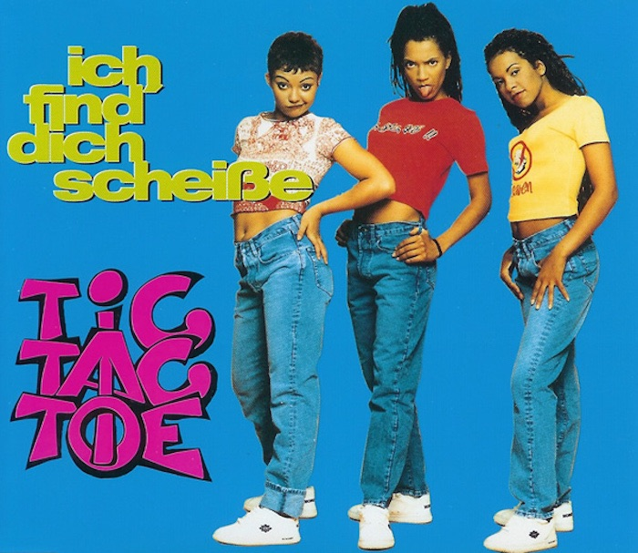 Tic Tac Toe: Ich find' Dich Scheisse. Maxi-Single - 1995